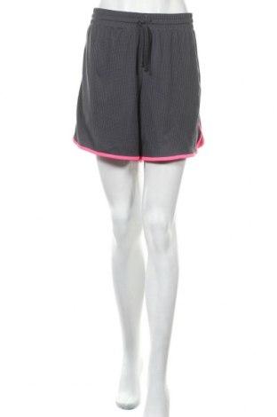 Γυναικείο κοντό παντελόνι Athletic Works, Μέγεθος L, Χρώμα Γκρί, Πολυεστέρας, Τιμή 16,24€