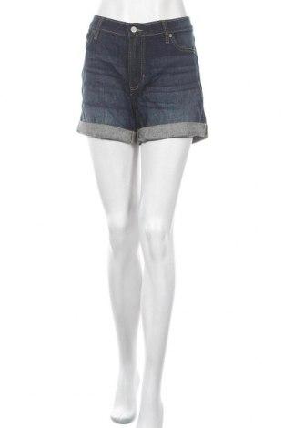 Γυναικείο κοντό παντελόνι Banana Republic, Μέγεθος L, Χρώμα Μπλέ, 98% βαμβάκι, 2% ελαστάνη, Τιμή 22,21€