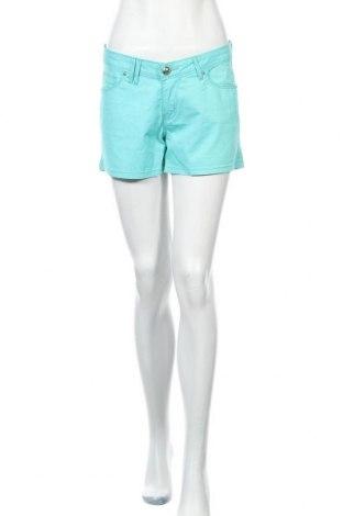 Дамски къс панталон Bel&Bo, Размер M, Цвят Зелен, 98% памук, 2% еластан, Цена 4,99лв.