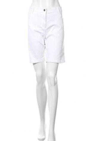 Γυναικείο κοντό παντελόνι Charles Vogele, Μέγεθος XL, Χρώμα Λευκό, 68% βαμβάκι, 29% πολυεστέρας, 3% ελαστάνη, Τιμή 12,47€