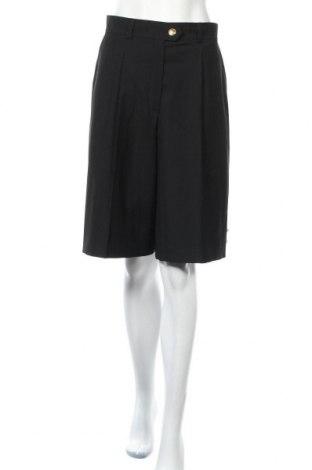 Дамски къс панталон ESCADA BY MARGARETHA LEY, Размер M, Цвят Черен, Вълна, Цена 64,05лв.