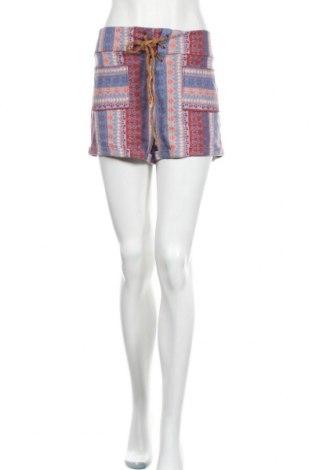 Γυναικείο κοντό παντελόνι Hollister, Μέγεθος L, Χρώμα Πολύχρωμο, 83% βαμβάκι, 15% πολυεστέρας, 2% ελαστάνη, Τιμή 12,96€