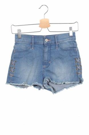 Γυναικείο κοντό παντελόνι Hollister, Μέγεθος XXS, Χρώμα Μπλέ, 82% βαμβάκι, 17% πολυεστέρας, 1% ελαστάνη, Τιμή 16,05€