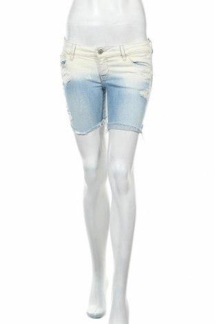 Γυναικείο κοντό παντελόνι Hollister, Μέγεθος S, Χρώμα Μπλέ, 99% βαμβάκι, 1% ελαστάνη, Τιμή 9,38€
