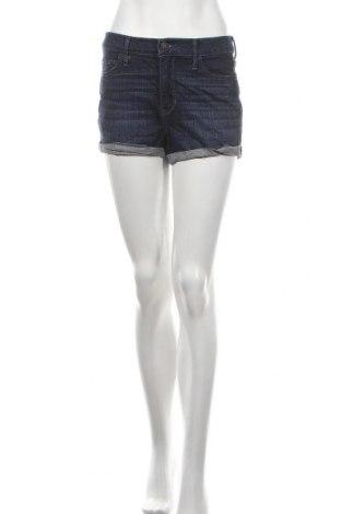Γυναικείο κοντό παντελόνι Hollister, Μέγεθος M, Χρώμα Μπλέ, 99% βαμβάκι, 1% ελαστάνη, Τιμή 9,87€