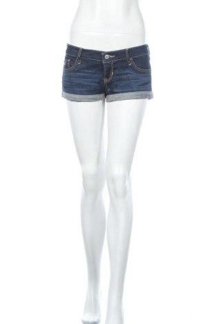 Γυναικείο κοντό παντελόνι Hollister, Μέγεθος M, Χρώμα Μπλέ, Τιμή 15,59€