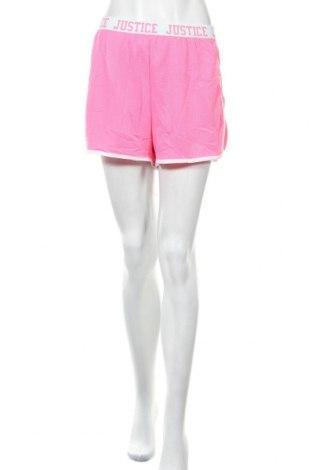 Γυναικείο κοντό παντελόνι Justice, Μέγεθος XL, Χρώμα Ρόζ , Πολυεστέρας, Τιμή 14,94€