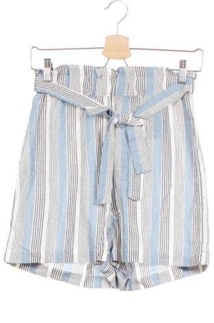 Дамски къс панталон ONLY, Размер XS, Цвят Многоцветен, 70% вискоза, 30% лен, Цена 40,50лв.