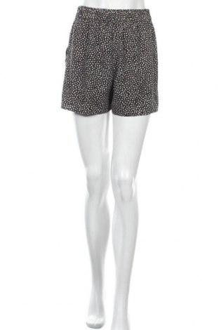 Γυναικείο κοντό παντελόνι Pieces, Μέγεθος S, Χρώμα Μαύρο, Πολυεστέρας, Τιμή 11,72€