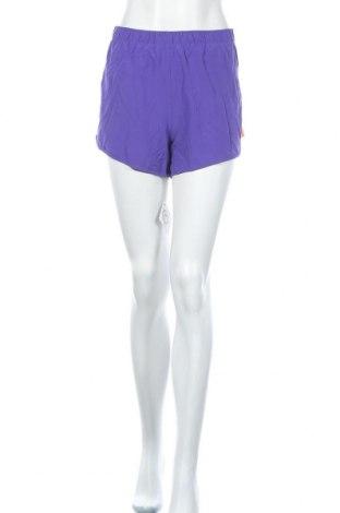 Дамски къс панталон Rbx, Размер L, Цвят Лилав, 95% полиестер, 5% еластан, Цена 18,90лв.