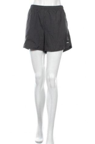 Дамски къс панталон Reebok, Размер XL, Цвят Сив, Полиестер, Цена 25,20лв.