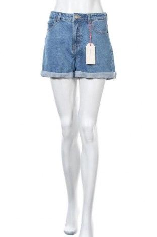 Дамски къс панталон Twintip, Размер M, Цвят Син, Памук, Цена 36,75лв.