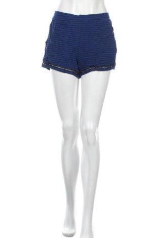 Дамски къс панталон Xhilaration, Размер M, Цвят Син, Вискоза, Цена 12,71лв.