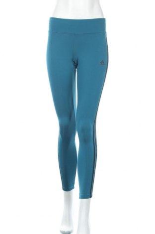 Дамски клин Adidas, Размер S, Цвят Син, 89% полиестер, 11% еластан, Цена 35,70лв.