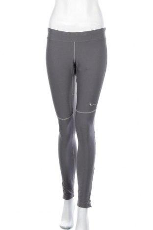 Дамски клин Nike, Размер L, Цвят Сив, 92% полиестер, 8% еластан, Цена 24,94лв.