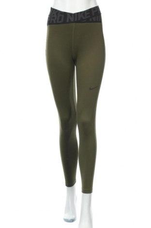 Дамски клин Nike, Размер S, Цвят Зелен, 80% полиестер, 20% еластан, Цена 40,95лв.