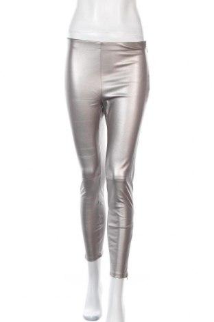 Dámské kožené kalhoty  Mango, Velikost S, Barva Béžová, Eko kůže, Cena  335,00Kč