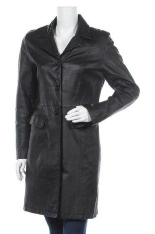 Dámský kožený přechodný kabát  Clockhouse, Velikost L, Barva Černá, Pravá kůže, Cena  1371,00Kč
