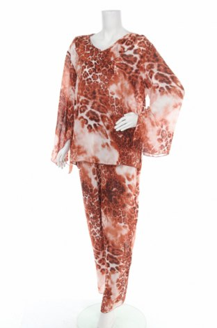 Γυναικείο κοστούμι, Μέγεθος XL, Χρώμα Πολύχρωμο, Πολυεστέρας, Τιμή 31,82€