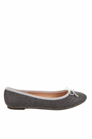 Дамски обувки, Размер 38, Цвят Черен, Естествен велур, Цена 28,98лв.