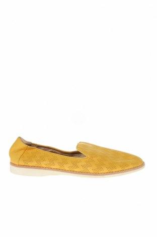 Γυναικεία παπούτσια, Μέγεθος 37, Χρώμα Κίτρινο, Γνήσιο δέρμα, Τιμή 31,18€