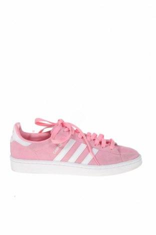 Дамски обувки Adidas Originals, Размер 38, Цвят Розов, Естествен велур, еко кожа, Цена 38,38лв.