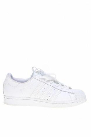 Дамски обувки Adidas Originals, Размер 39, Цвят Бял, Естествена кожа, Цена 46,50лв.