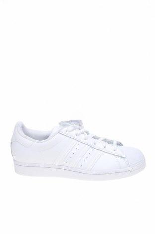 Дамски обувки Adidas Originals, Размер 38, Цвят Бял, Естествена кожа, еко кожа, Цена 119,25лв.