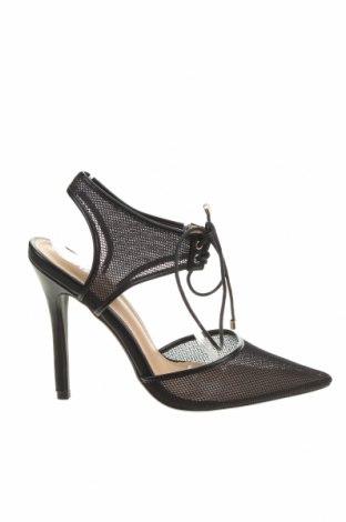 Дамски обувки Bebo, Размер 40, Цвят Черен, Текстил, Цена 51,75лв.