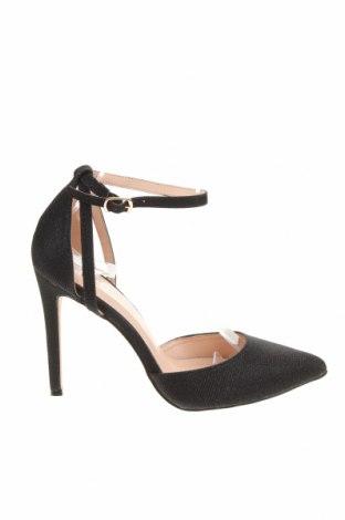 Дамски обувки Bebo, Размер 39, Цвят Черен, Текстил, Цена 51,75лв.