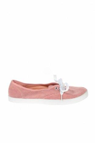 Дамски обувки Brilliant, Размер 37, Цвят Розов, Текстил, Цена 15,02лв.