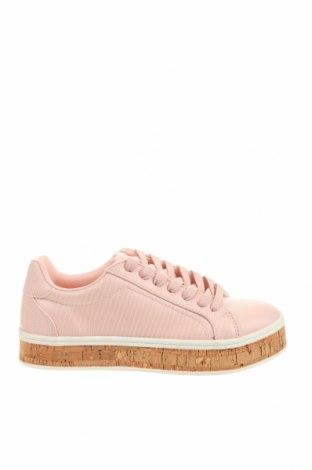 Дамски обувки Bullboxer, Размер 37, Цвят Розов, Еко кожа, Цена 58,50лв.