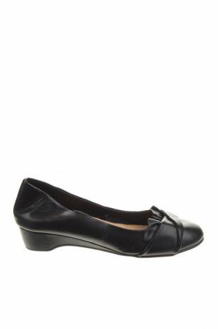 Дамски обувки Clothing & Co, Размер 37, Цвят Черен, Еко кожа, Цена 25,94лв.