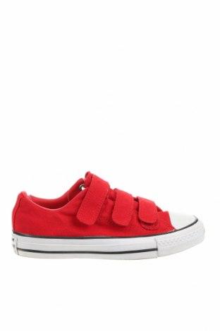 Дамски обувки Converse, Размер 35, Цвят Червен, Текстил, Цена 48,30лв.
