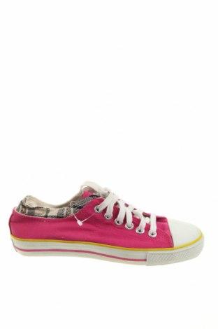 Дамски обувки Converse, Размер 39, Цвят Розов, Текстил, Цена 43,89лв.