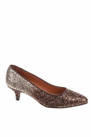 Дамски обувки Cream, Размер 36, Цвят Сребрист, Текстил, Цена 24,55лв.