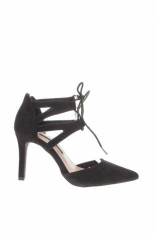 Дамски обувки Dorothy Perkins, Размер 36, Цвят Черен, Текстил, Цена 26,55лв.
