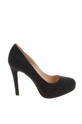 Дамски обувки Evita, Размер 37, Цвят Черен, Текстил, Цена 29,44лв.