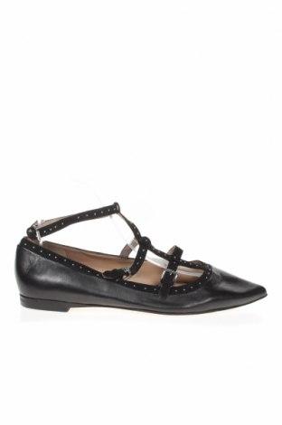 Дамски обувки French Connection, Размер 38, Цвят Черен, Естествена кожа, Цена 68,25лв.
