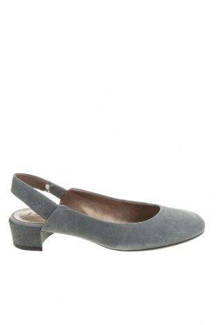 Дамски обувки Geox, Размер 36, Цвят Сив, Естествен велур, Цена 97,30лв.