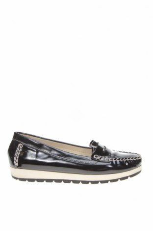 Дамски обувки Geox, Размер 35, Цвят Черен, Естествена кожа, Цена 51,75лв.