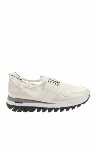 Дамски обувки Jette, Размер 36, Цвят Бял, Еко кожа, текстил, Цена 89,25лв.