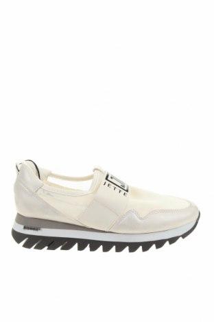 Дамски обувки Jette, Размер 36, Цвят Бял, Текстил, еко кожа, Цена 76,50лв.