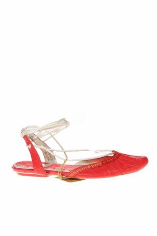 Дамски обувки Jump, Размер 37, Цвят Червен, Естествена кожа, Цена 49,14лв.