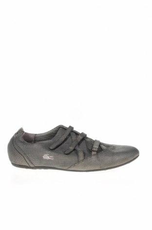 Γυναικεία παπούτσια Lacoste, Μέγεθος 40, Χρώμα Γκρί, Γνήσιο δέρμα, Τιμή 28,25€