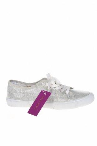 Дамски обувки Lascana, Размер 40, Цвят Сребрист, Текстил, Цена 48,30лв.