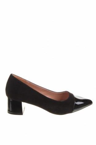 Дамски обувки Maria Mare, Размер 36, Цвят Черен, Текстил, полиуретан, Цена 21,09лв.