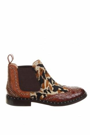 Дамски обувки Melvin & Hamilton, Размер 39, Цвят Кафяв, Естествена кожа, естествен косъм, Цена 269,00лв.