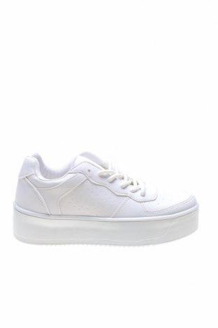 Дамски обувки NLY, Размер 36, Цвят Бял, Еко кожа, Цена 46,40лв.