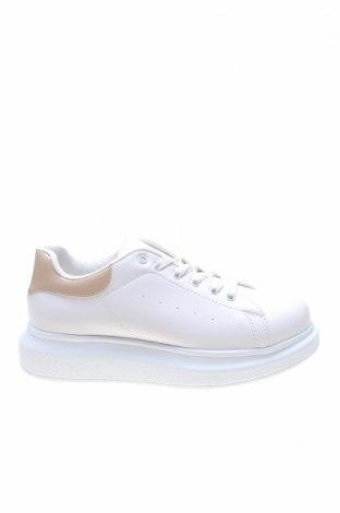 Γυναικεία παπούτσια NLY, Μέγεθος 38, Χρώμα Εκρού, Δερματίνη, Τιμή 26,68€